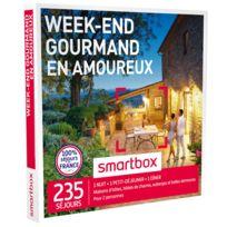 Smartbox - Week-end gourmand en amoureux - À choisir parmi 235 délicieux séjours partout en France : hôtels de charme, maisons traditionnelles ou encore demeures de caractère - Coffret Cadeau