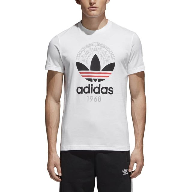 Adidas Tee shirt Trefoil CD6827 pas cher Achat Vente