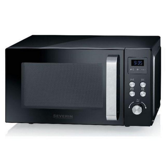 SEVERIN micro-ondes + gril 20l 800w noir - mw9551