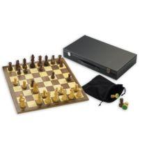 Gibsons - Jeu d'échecs en bois avec roi de 8,8 cm