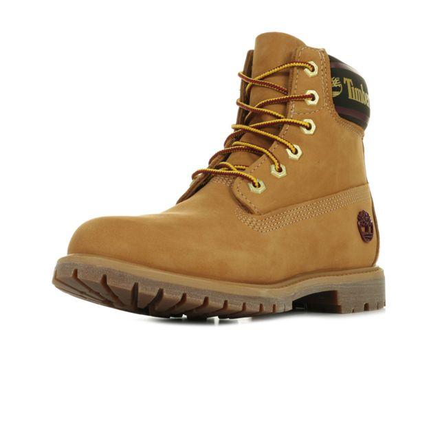 6in Logo Collar Boot
