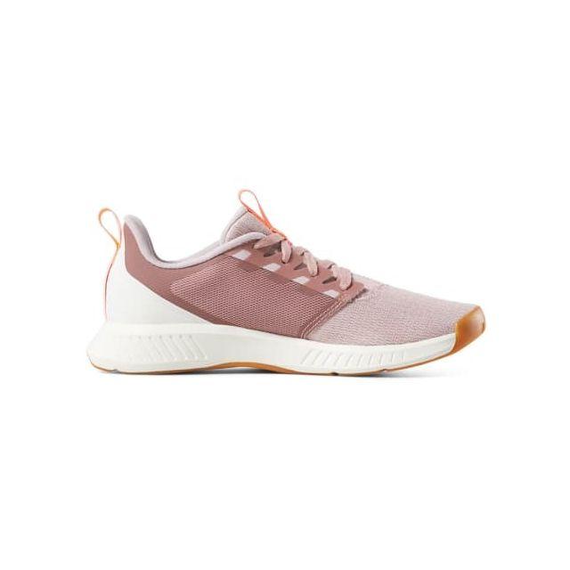 Reebok Chaussures Fusium Lite Blanc Lilas Femme Pas Cher Achat