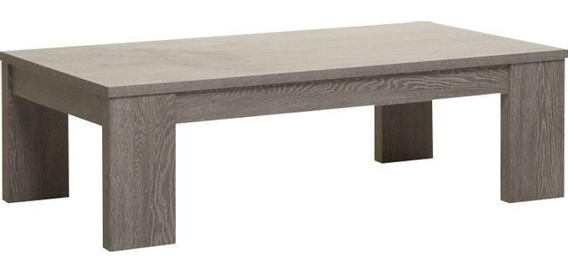 Comforium Table basse de 130 cm contemporaine coloris cottage oak