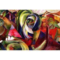 Ricordi Arte - Puzzle 1500 pièces : Mandrill, Franz Marc
