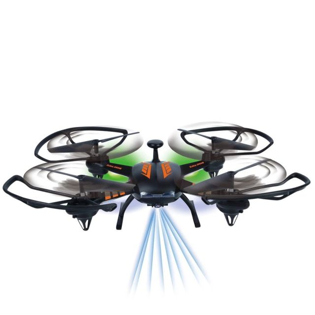 No Name Hélicoptères télécommandés Esthetique Gear2Play Drone Zuma Orange Tr80514