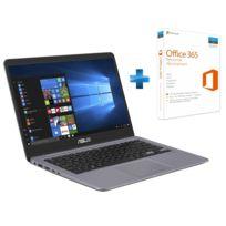 ASUS - VivoBook S14 S401UA-EB812T - Gris + Microsoft Office 365 Personnel