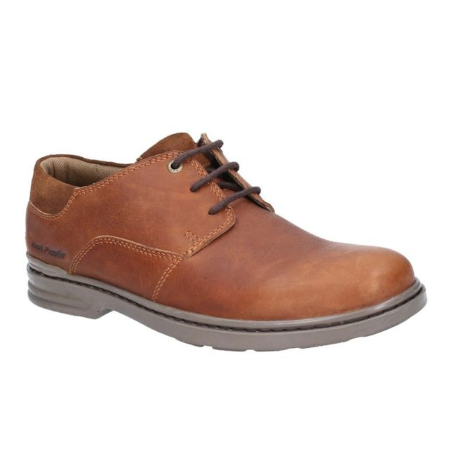Hush Puppies Derbies Hanston - Homme 45 Fr, Marron Utfs6079