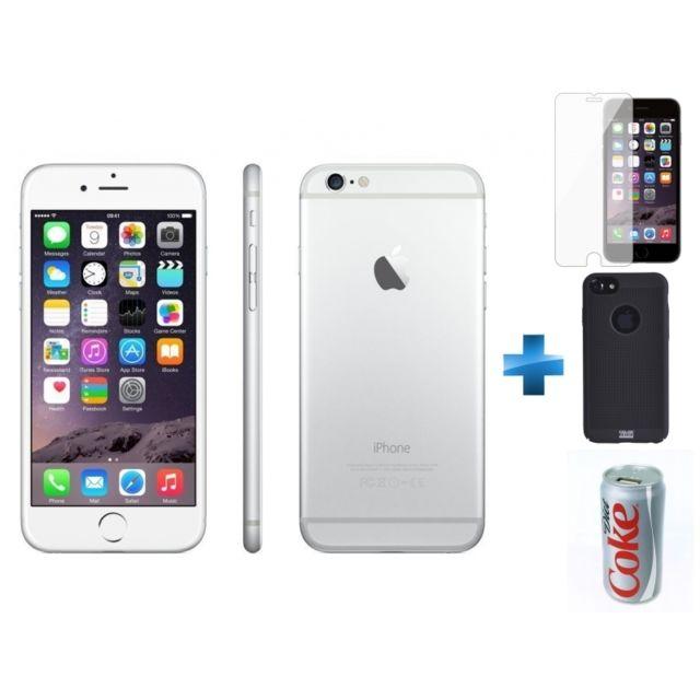 APPLE - iPhone 6 - 64 Go - Argent - Reconditionné + Verre trempe iPhone 6 b40537844f3b