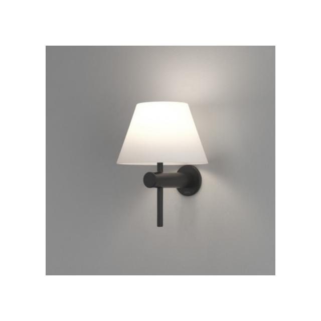 Astro - Applique abat-jour - Roma L15 cm Ip44 salle de bain - Noir ...