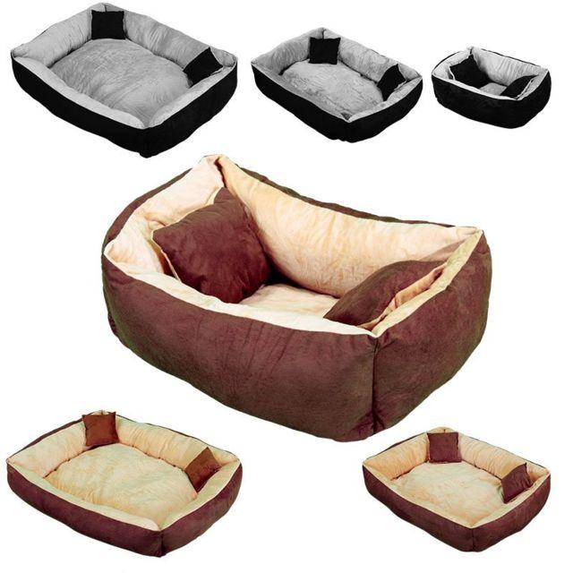 beautypet panier lit niche avec coussin pour chien et. Black Bedroom Furniture Sets. Home Design Ideas