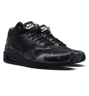Nike Basket air max 1 Mid Fb 685192 001 noire 40 12 pas