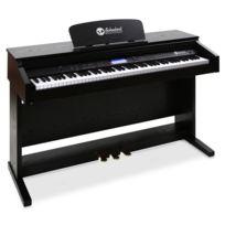 Schubert - Piano électrique 88 touches noir Midi 3 pédales