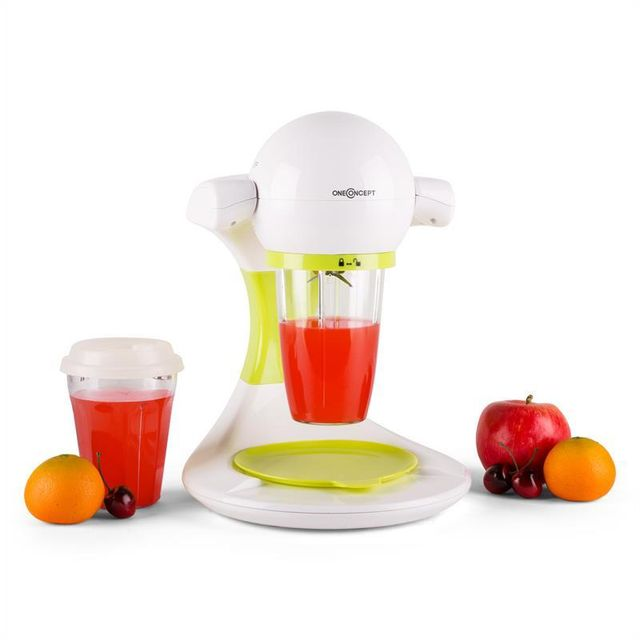 ONECONCEPT Smooothy Smoothie Maker 350W -vert/blanc