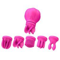 Adrien Lastic - Stimulateur Clitoridien Caress Rechargeable Rose