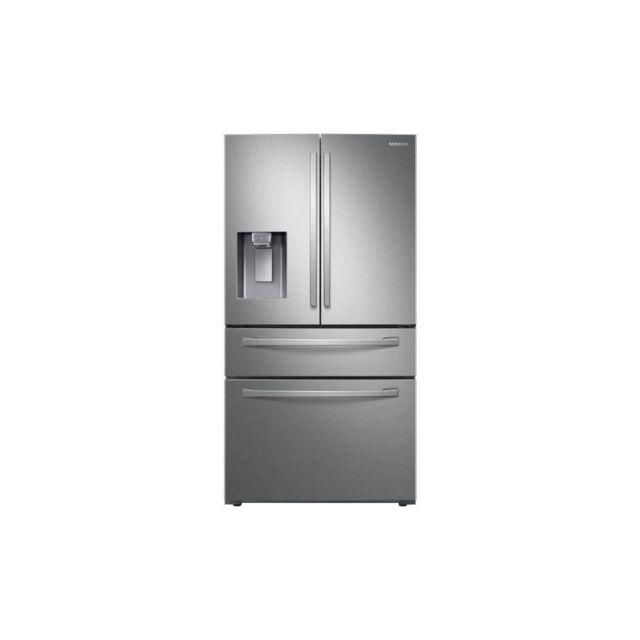 Samsung RF22R7351SR- Refrigerateur French Door - 501L 339L + 123L + 39L - Froid Ventile Plus - A+ - L90,8cm x H177,7cm - Inox
