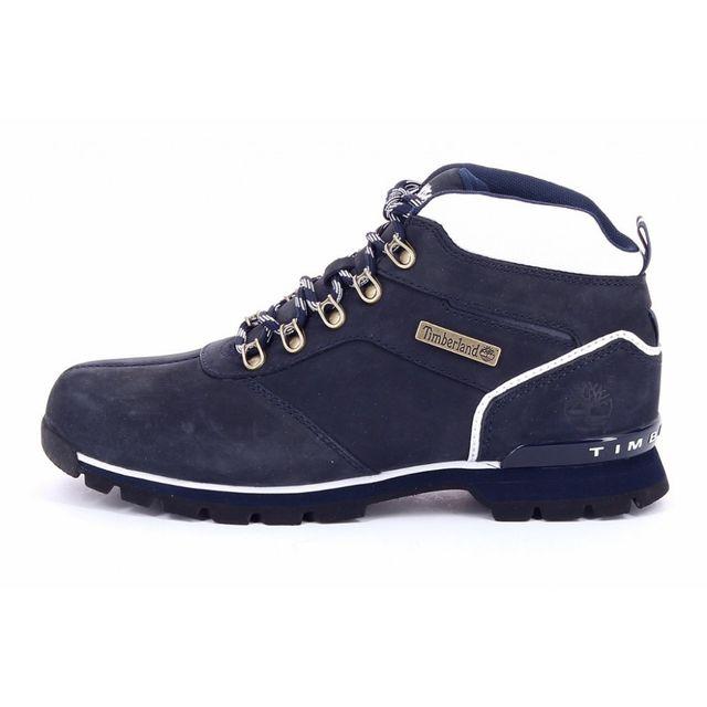 chaussures timberland euro rock hiker bleu