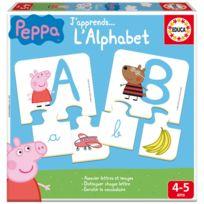Educa - J'apprends l'alphabet : Peppa Pig