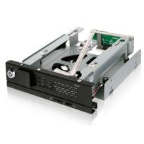 ICY DOCK - Rack amovible 5,25'' sans tiroir TurboSwap MB171SP-B pour disque dur 3,5'' SATA