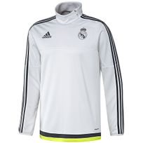 Adidas - Performance-Sweat Real Madrid Trainning Trg Top Y Jr Blanc S88967