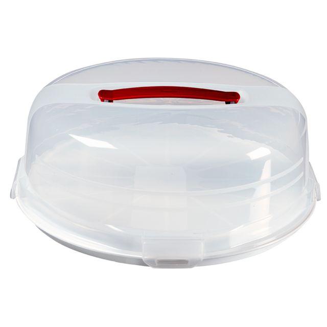 Curver Boîte à Gâteau Ronde avec Plateau Réversible