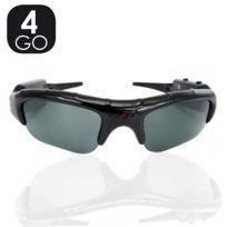 SecuriteGOODdeal - Lunette camera 4GO, lunette espion solaire