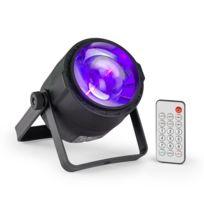 BEAMZ - PLS30 Spot 10W 4in1 RGBW 6 canaux DMX Batterie Ecran LED Télécommande