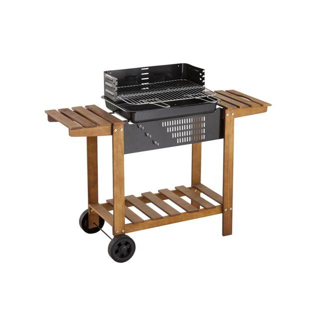 hesperide barbecue au charbon de bois clorinda pas. Black Bedroom Furniture Sets. Home Design Ideas