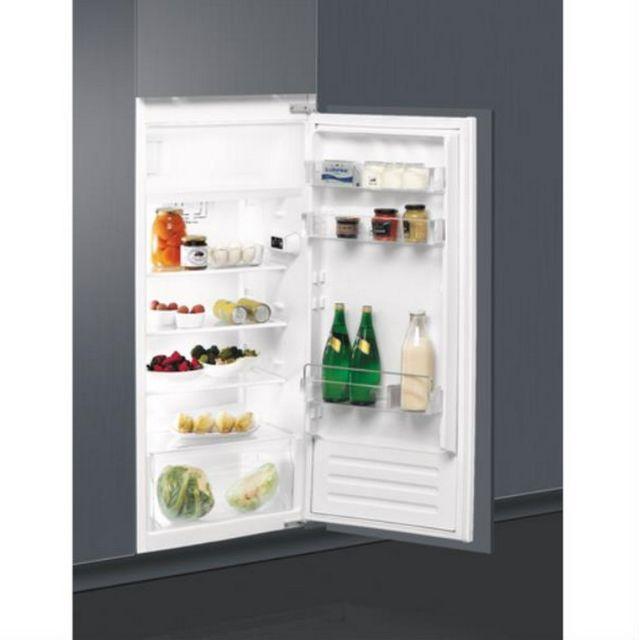 Whirlpool réfrigérateur 1 porte intégrable à glissière 54cm 191l a+ statique - arg760a+1