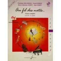 Billaudot Gerard Editions - Au fil des notes volume 4 + Cd cycle Ii 1re année - C. Millerioux/ F. Robert / Marie.C Voirpy / A.Voirpy