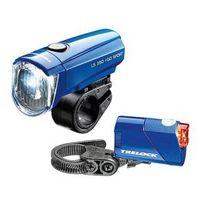 Trelock - Jeu lampes Led I-go Sport bleu