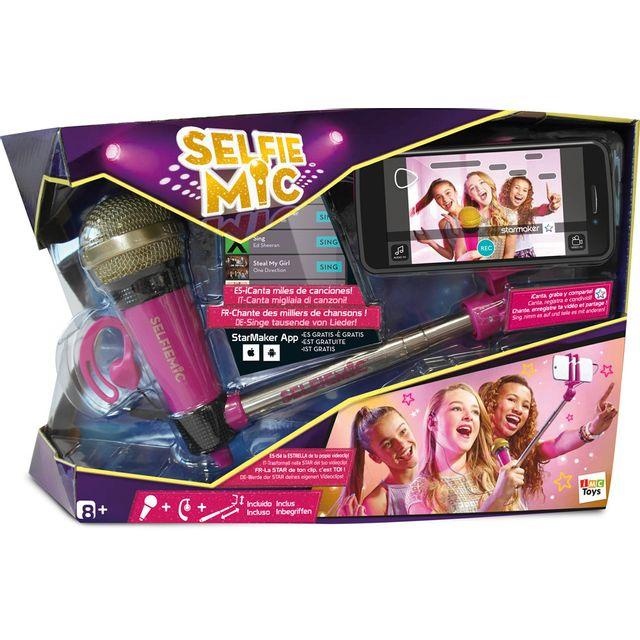 IMC TOYS - Jeu Selfie mic Rose - 95250