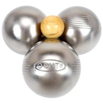 Obut - Boules de pétanque Loisir inox side 73 mm Gris 78783