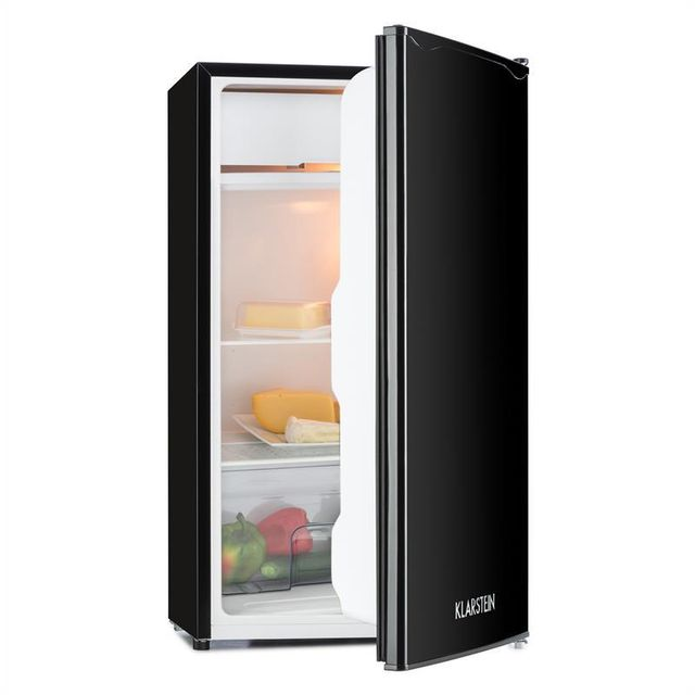 KLARSTEIN Alleinversorger Réfrigérateur 90l Freezer 7L Classe A+ - noir