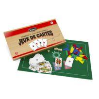Jeujura - Coffret de jeux de cartes