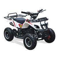 New Motorz - Quad Enfant Rino 49 - 50cc - Rockstar - Blanc