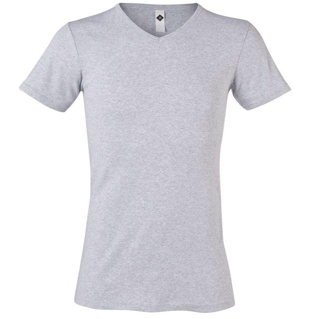 TEX - Lot de 2 t-shirts en coton BIO manches courtes homme - pas ... eab13b324028