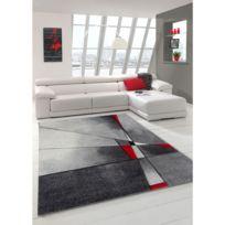 UN AMOUR DE TAPIS - Tapis PHYLO Tapis Moderne par Unamourdetapis rouge 80 x 150 cm