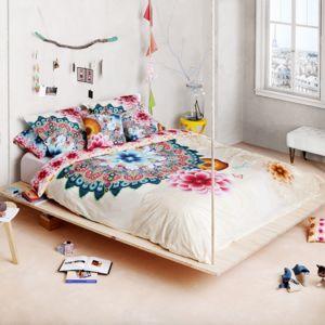 desigual housse de couette taie mandala pas cher achat vente housses de couette. Black Bedroom Furniture Sets. Home Design Ideas