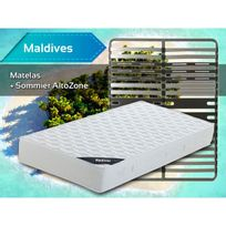 Altobuy - Maldives - Pack Matelas + AltoZone 140x200