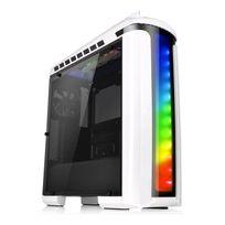 THERMALTAKE - Boitier PC ATX Versa C22 RGB Snow Edition - Blanc avec fenêtre