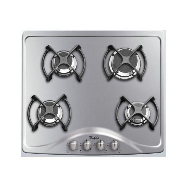 whirlpool table gaz akm515ix 01 achat plaque de cuisson gaz. Black Bedroom Furniture Sets. Home Design Ideas