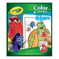 Crayola - Album de coloriages et stickers Le Monde de Dory