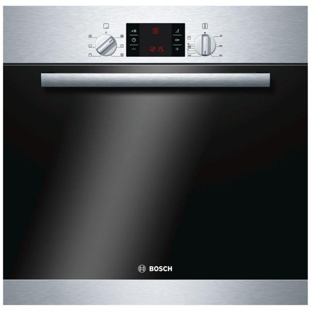 Bosch four intégrable 66l 60cm a ecoclean inox - hba43b151f