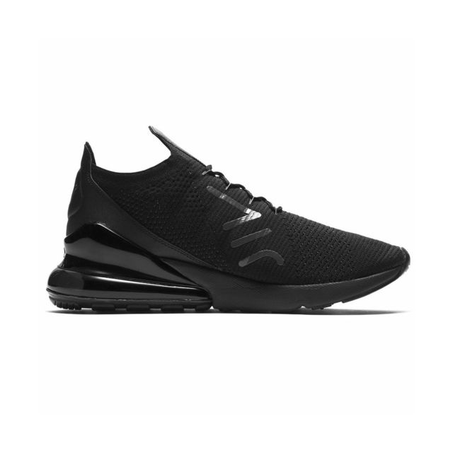 nike air max 270 flyknit noir homme