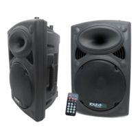 Ibiza Sound - Enceinte amplifiée 700W + enceinte passive 600W