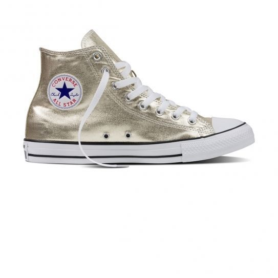 2b2fd5730abd Converse - Chaussures All Star Hi Light Gold W h16 Jaune - pas cher Achat   Vente  Baskets femme - RueDuCommerce