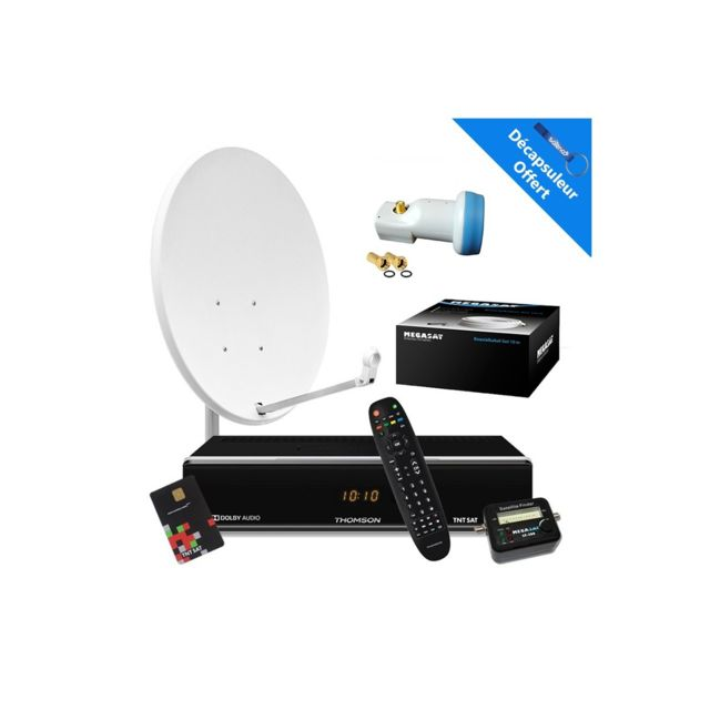 hdsat promo kit parabole 65 cm r cepteur satellite. Black Bedroom Furniture Sets. Home Design Ideas