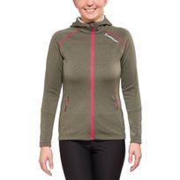 Peak Performance - Aim - Sweat-shirt - Zip, Hood olive