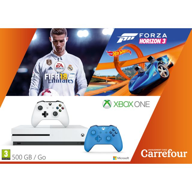 MICROSOFT Pack Exclu Xbox One Forza Horizon 3