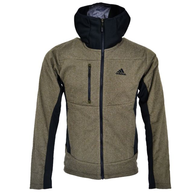 Adidas Performance Sweat Outdoor Ht Melange Fl H Kaki